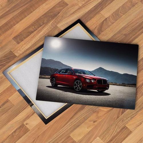 cuadros canvas autos bentley rolls royce alta gama 60x40