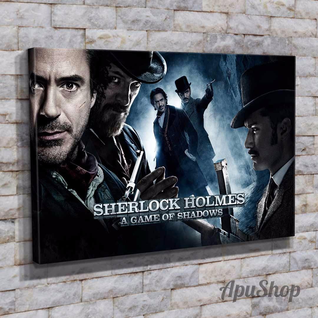 Cuadros Canvas Modernos 60x40 Película Sherlock Holmes Y Más - $ 749 ...