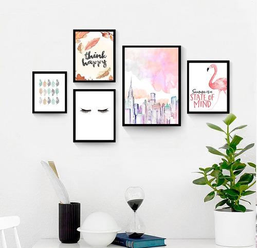 cuadros c/marco de madera,diseños a elección,personalizados