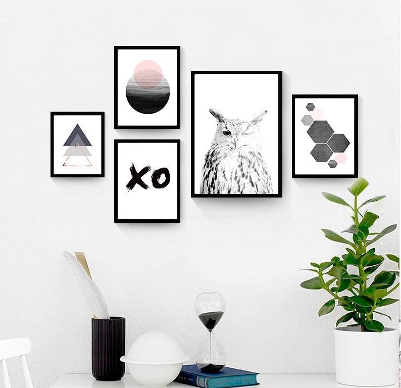 Cuadros c marco de madera dise os a elecci n personalizados en mercado libre - Disenos de cuadros ...