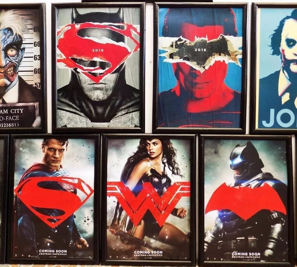 Cuadros Con Marco - 60x40cm - Batman Vs Superman - S/ 70,00 en ...
