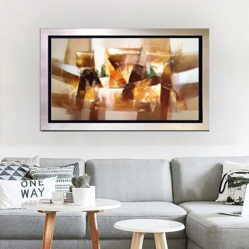 cuadros con marco modernos abstractos al oleo