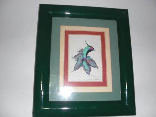 cuadros de arte (colibrís)