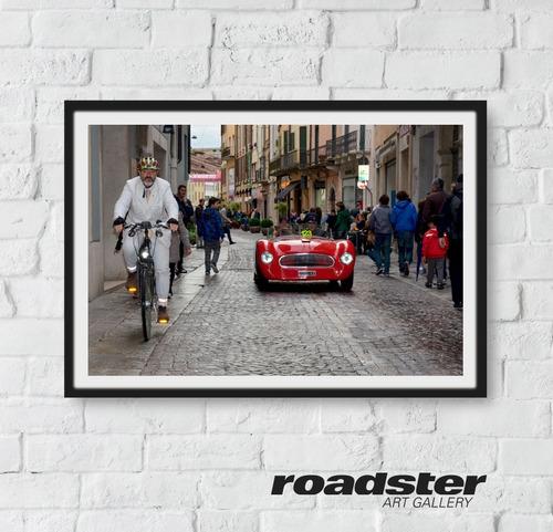 cuadros de autos y motos clásicas de italia
