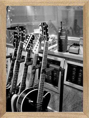 cuadros de bebidas  absolut guitarras  m526