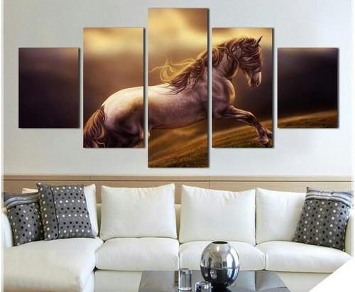 cuadros de caballos hechos  a mano al óleo sobre lienzo