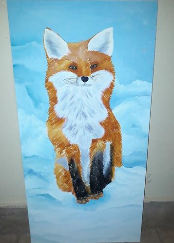 cuadros de fauna patagónica  animales artesanales