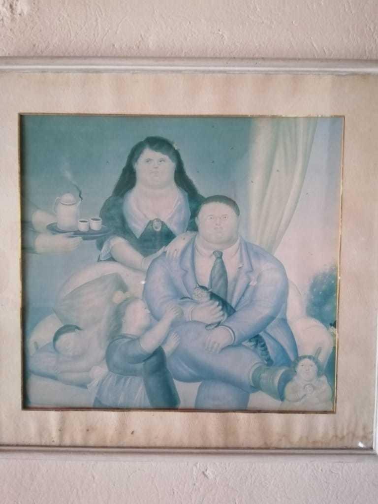 cuadros de fernando botero del año 1962