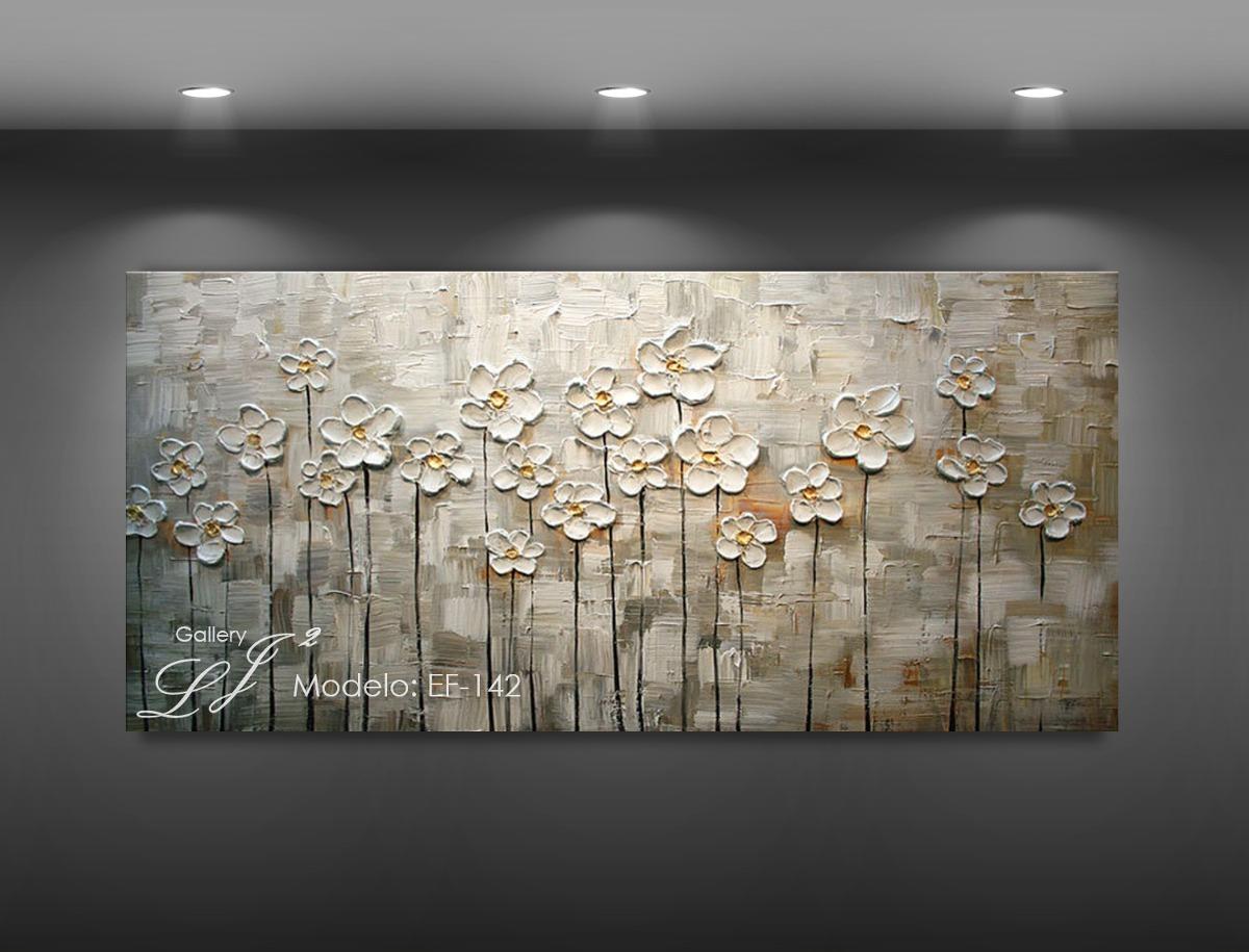Cuadros de flores al oleo c esp tula 100 a mano arte for Tendencia en cuadros decorativos 2016