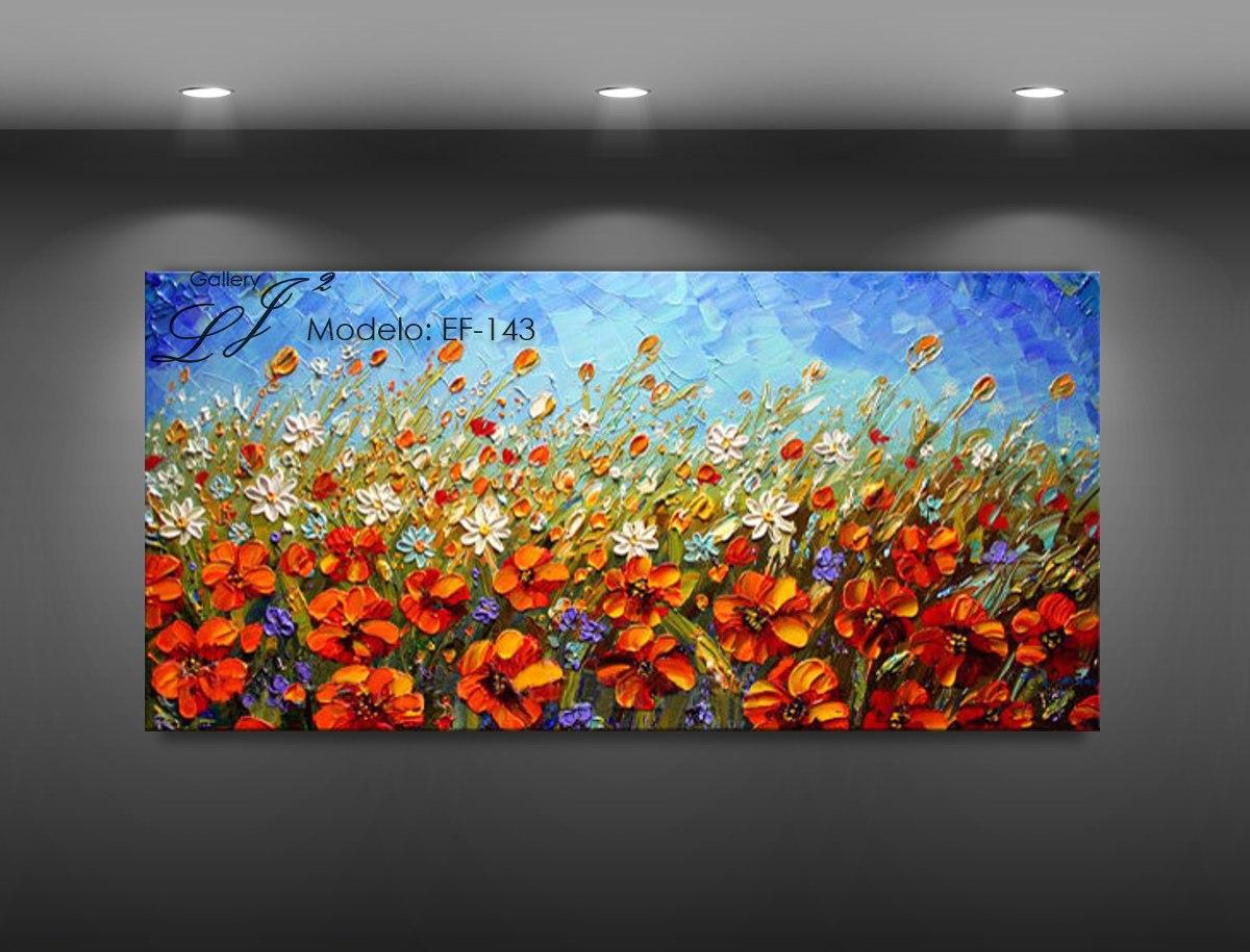 Cuadros de flores al oleo c esp tula 100 a mano arte - Fotos de salones pintados ...