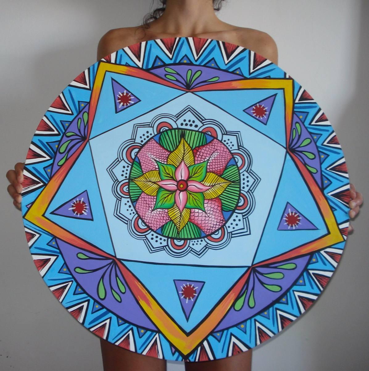 Cuadros De Mandalas Pinturas Decoracion Bipticos 250000 En - Pinturas-de-mandalas