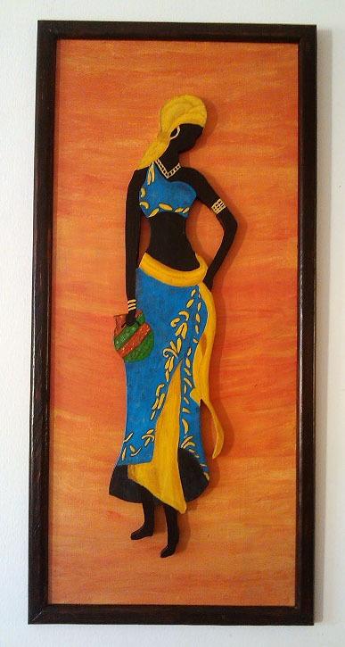 Imagenes de vestidos de negras africanas
