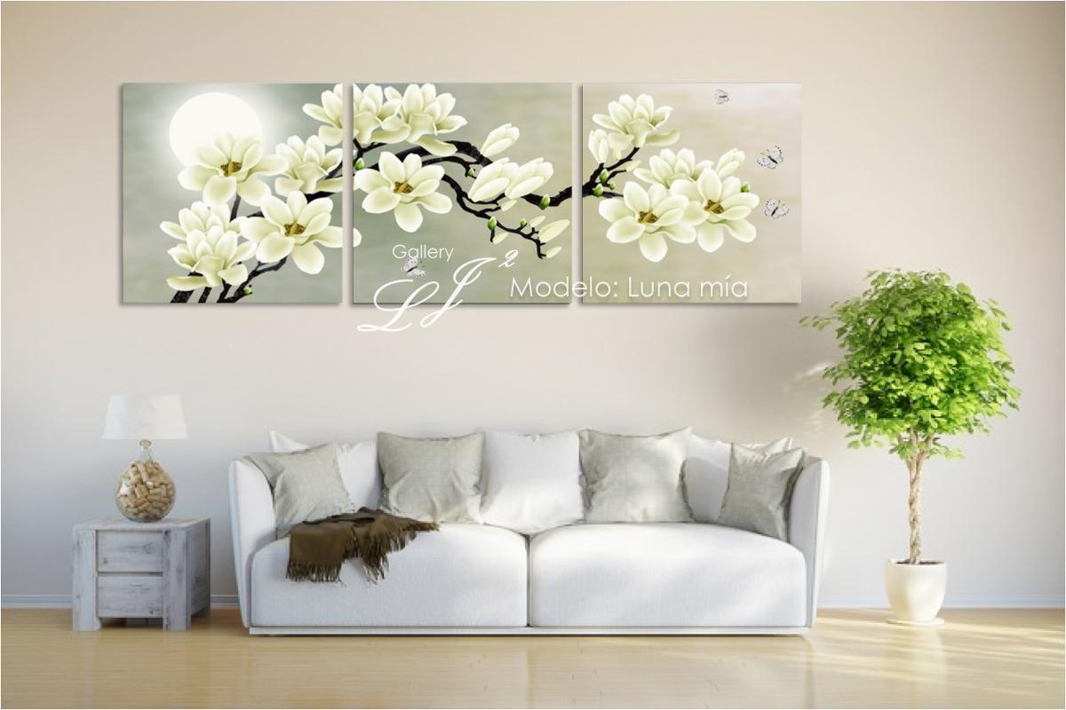 Cuadros de orqu deas flores decoraci n arte moda for Pintado de salas pequenas