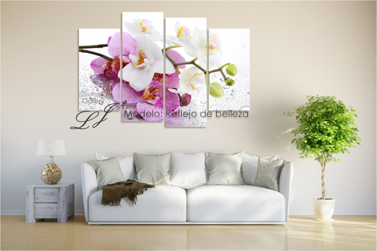 Cuadros de orqu deas flores decoraci n arte moda - Cuadros decoracion hogar ...