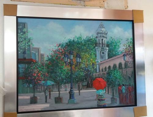 cuadros de pintores dominicanos