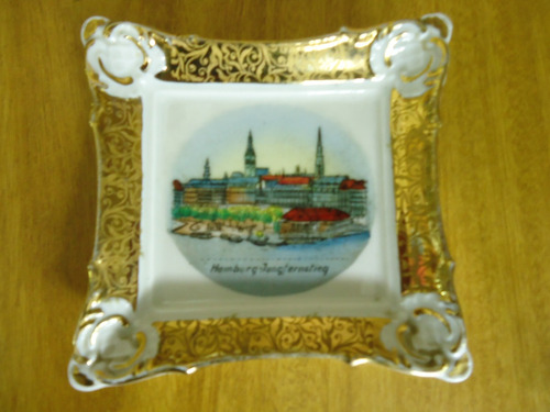 cuadros de pocelana en miniatura origen europeo