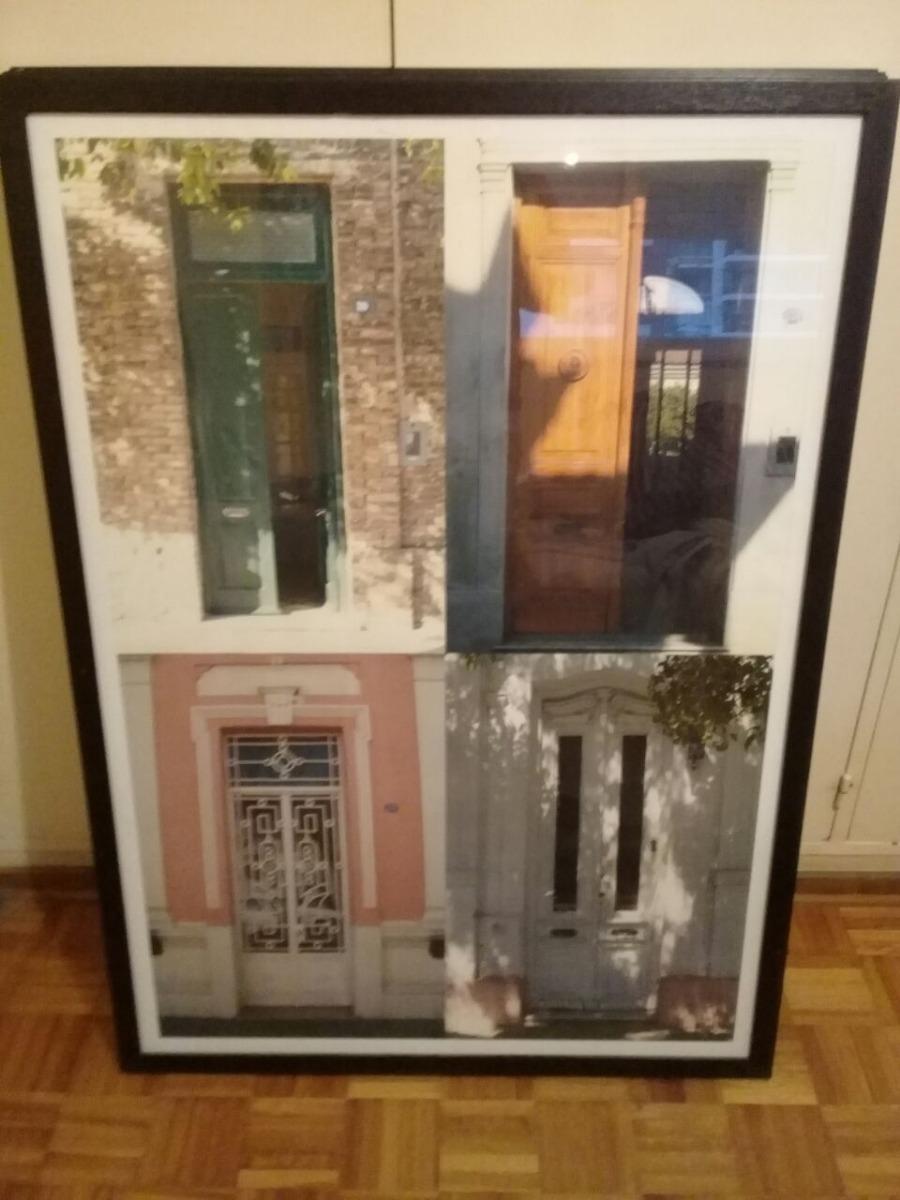 Cuadros De Puertas Enmarcados En Madera Calidad Fotográfica ...