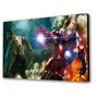 Cuadro 50x30cms Decorativo Iron Man & Hulk