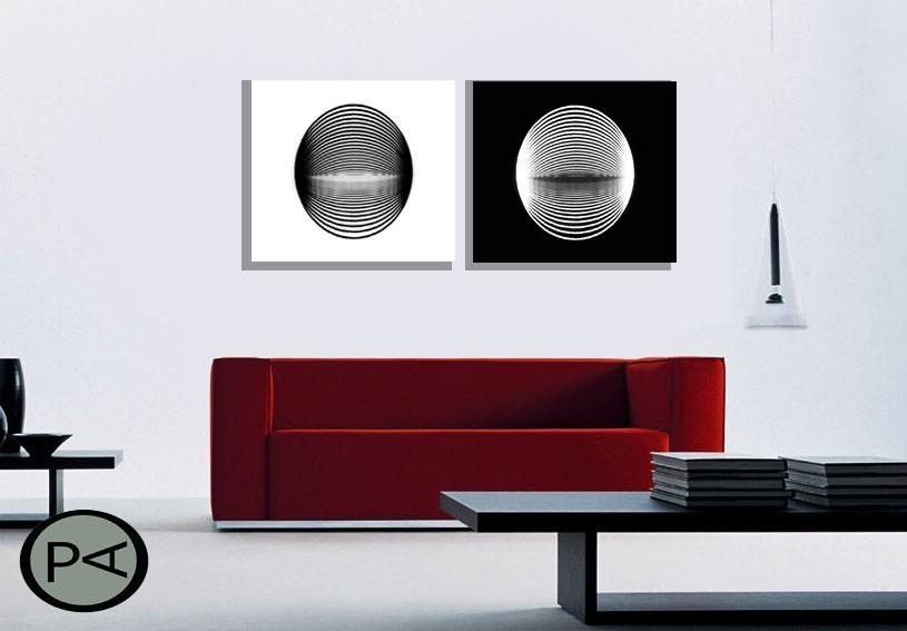 cuadros decoracin modernos trpticos abstractos minimalista