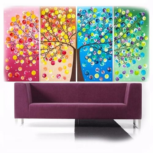 cuadros decorar living habitacion hogar tripticos modernos
