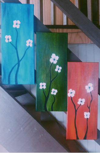 cuadros decoratibos pintados con acrilicos