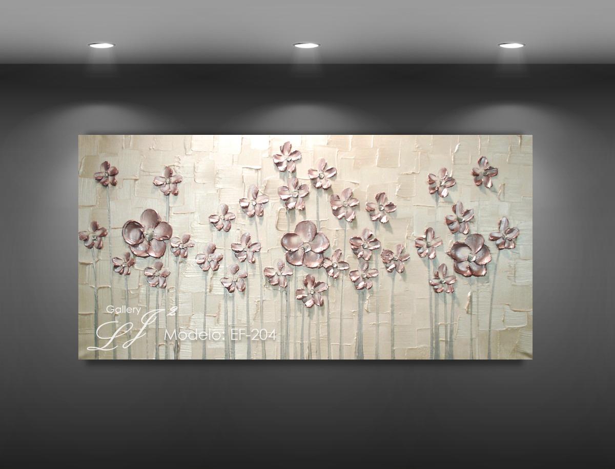 cuadros decorativos al leo con esp tula flores