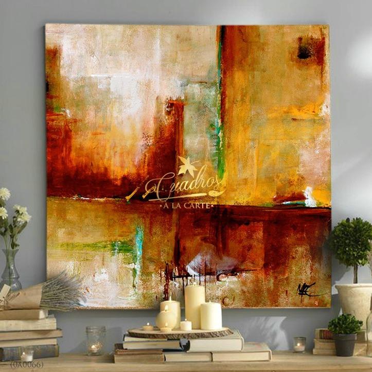 Cuadros decorativos al leo cuadros abstractos c066 - Oleos decorativos ...