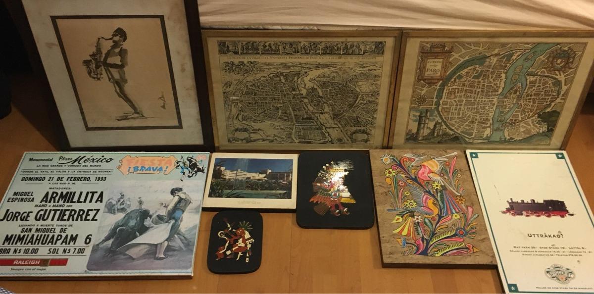 Encantador Cuadros Decorativos Vintage Elaboración - Ideas de ...