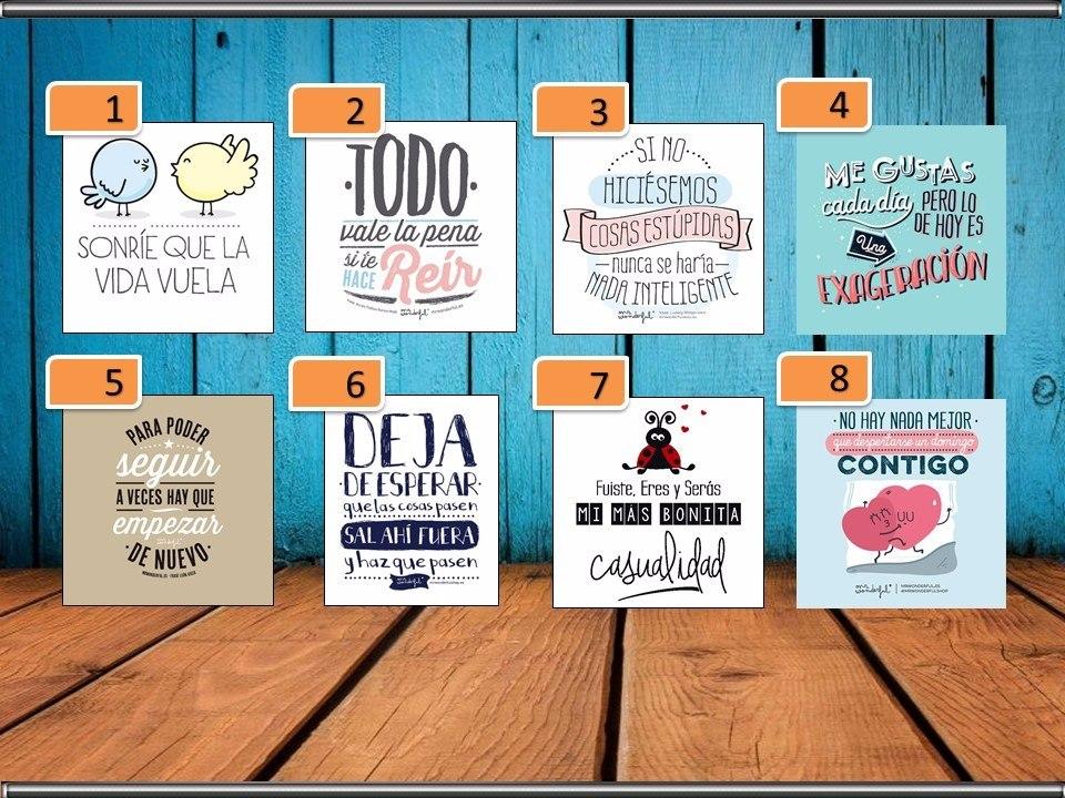 Cuadros Decorativos Con Frases Motivadoras Divertidas