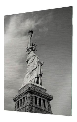 cuadros decorativos de aluminio con foto estatua de libertad