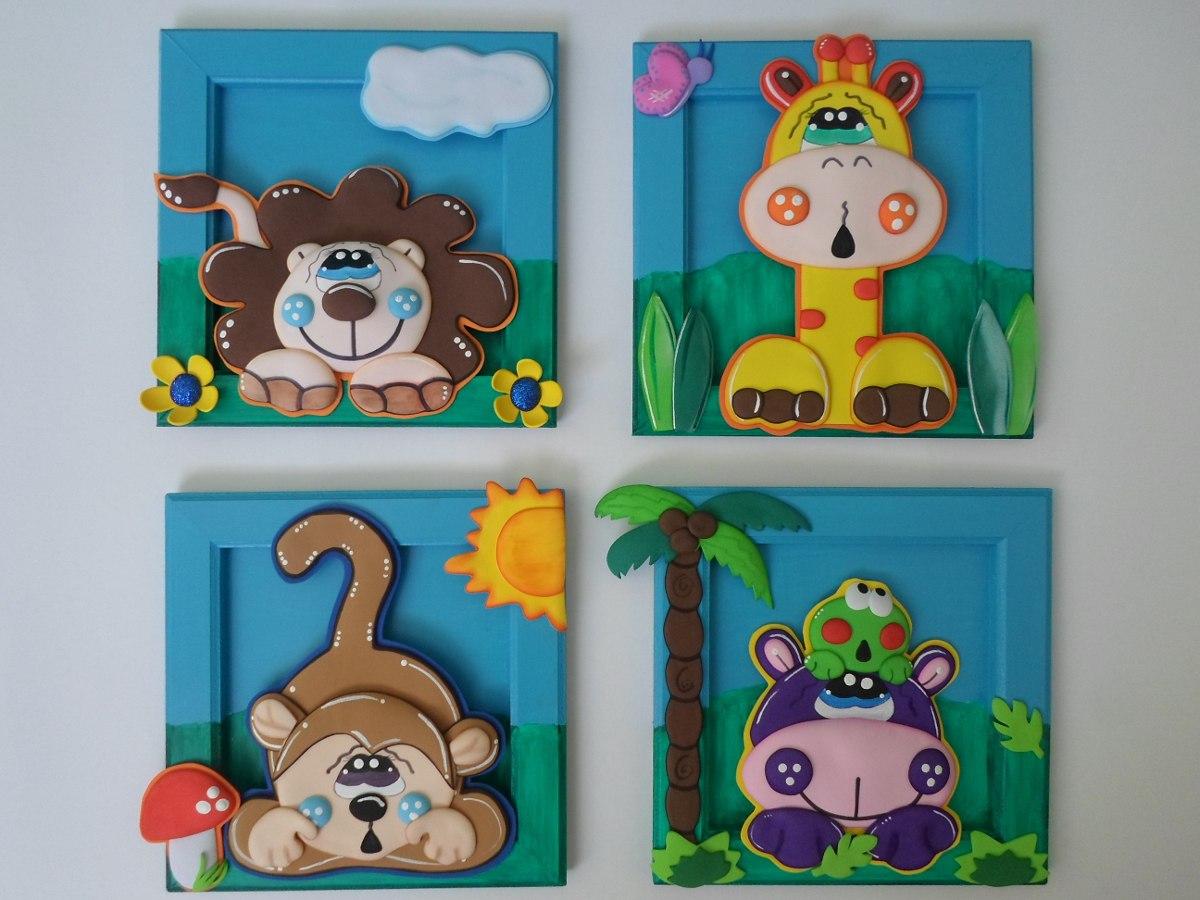 Cuadros decorativos de animales en mercado libre - Cuadros decorativos infantiles para ninos ...