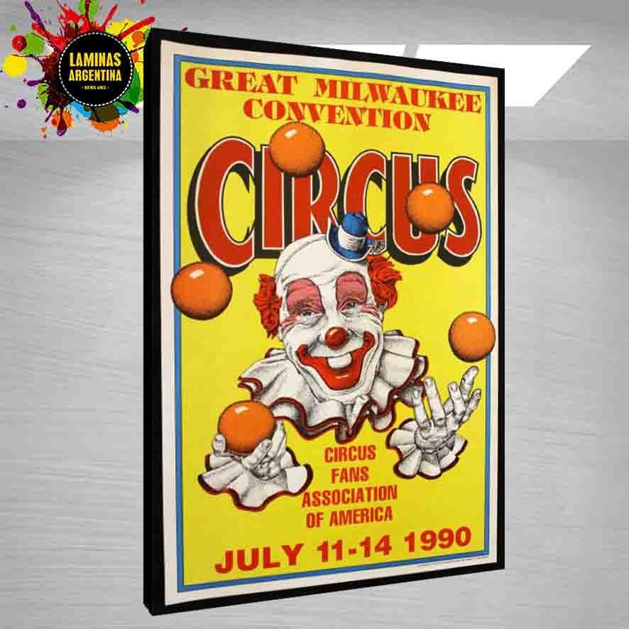 Cuadros Decorativos De Circo Chaplin Y Muchos Mas Temas - $ 249,99 ...