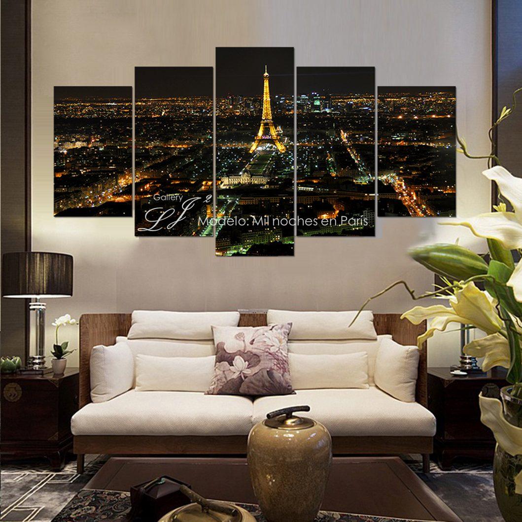 Cuadros decorativos de ciudades paris londres new york for Tableau paris londres new york