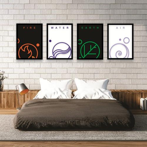 cuadros decorativos de pared modernos abstractos