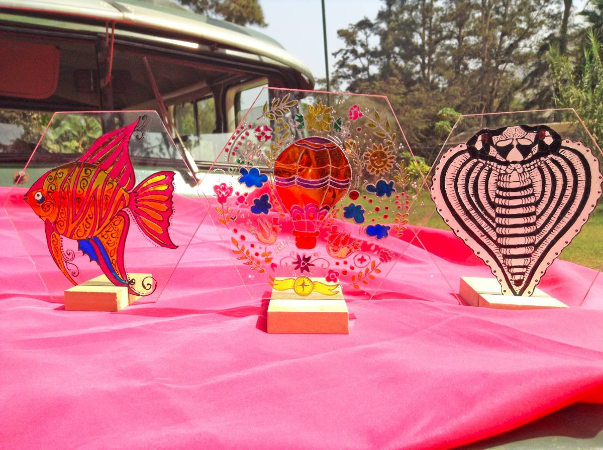 Cuadros decorativos de vidrio vitrales para regalar s - Vidrio plastico para cuadros ...