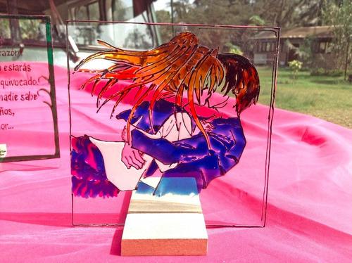 cuadros decorativos de vidrio, vitrales para regalar
