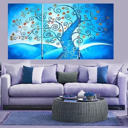 cuadros decorativos decoracion de interiores tripticos hotel
