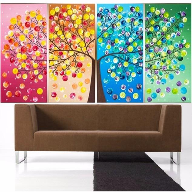 Cuadros decorativos para dormitorios cuadros caseros en for Cuadros tripticos dormitorios modernos