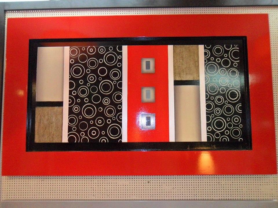 Cuadros decorativos estilo minimalista y espejos s 390 for Cuadros minimalistas