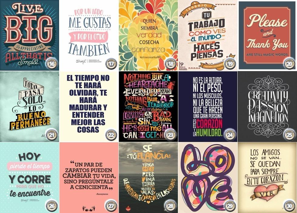 Cuadros Decorativos Frases Vintage 34x24 Cm Regalo