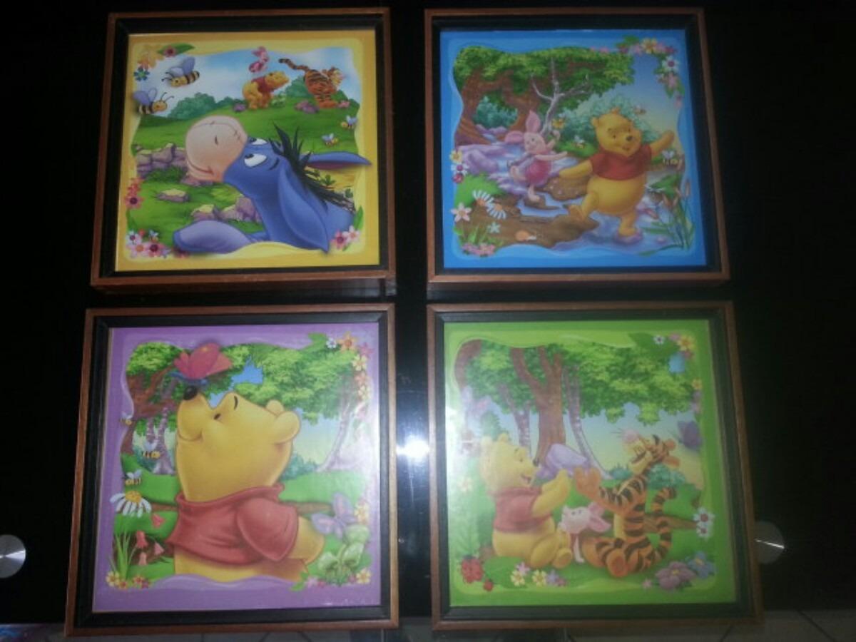Cuadros Decorativos Infantiles De Winnie Pooh - Bs. 65.000,00 en ...