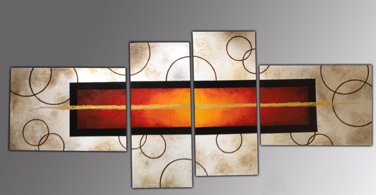 Cuadros decorativos minimalistas abstractos y modernos Cuadros tripticos modernos para comedor