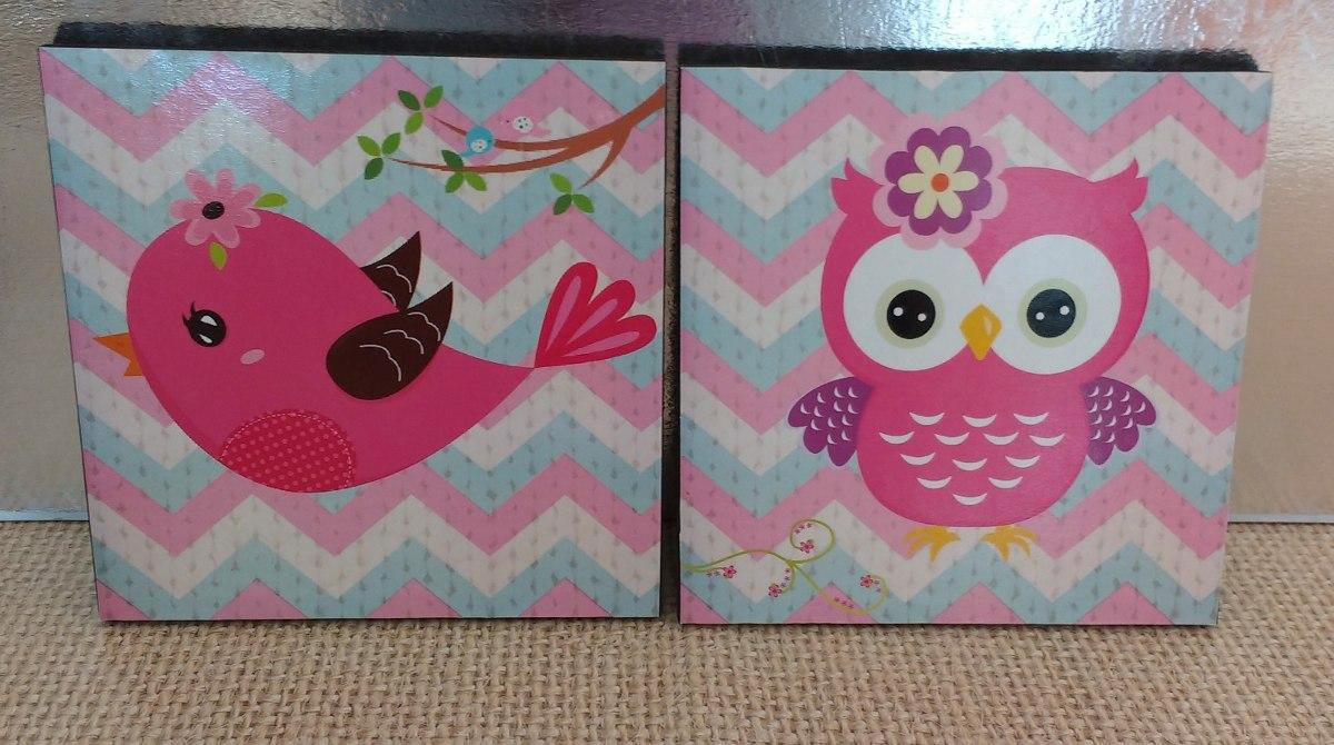Cuadros decorativos para bebe ni a 2 pz 20x20 envio for Donde puedo comprar cuadros decorativos
