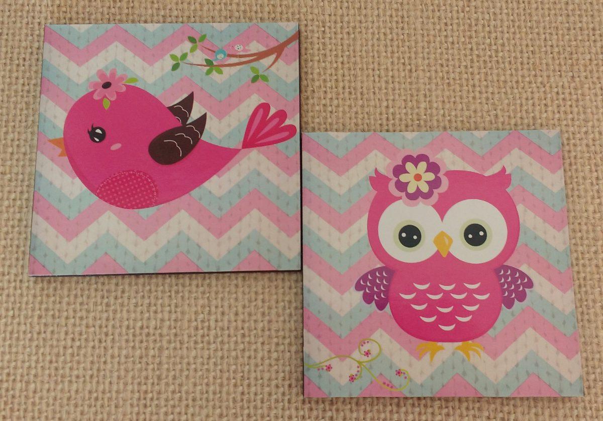Cuadros decorativos para bebe ni a 2 pz 20x20 envio - Cuadros para habitaciones de ninas ...