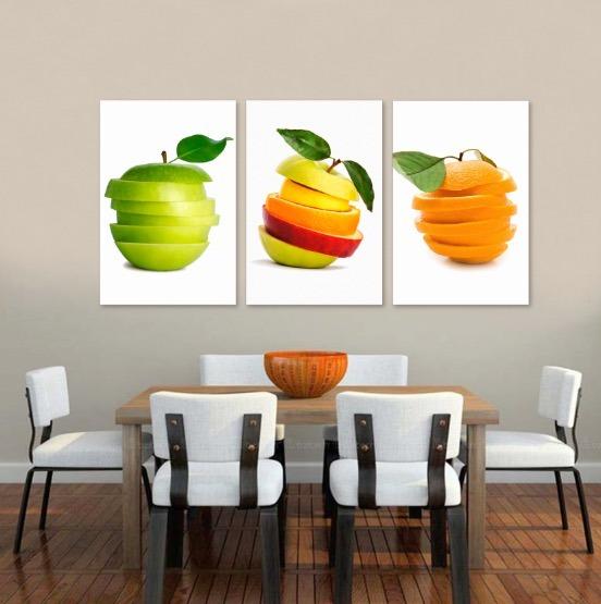 Cuadros decorativos para comedor en lienzo canvas env o for Cuadros modernos para comedor diario
