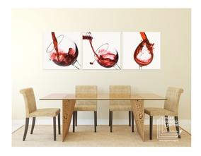 Cuadros Decorativos Vinos Comedor Sala Canvas Modernos Hd