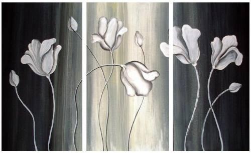 cuadros dipticos tripticos en blanco y negro - Cuadros En Blanco Y Negro