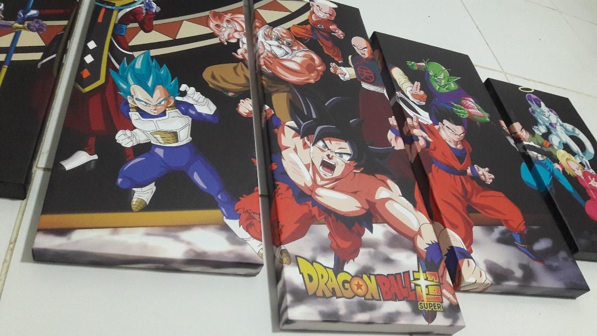 Cuadros Dragon Ball Super En Ecocuero Y Lienzo - S/ 28,00 en Mercado ...