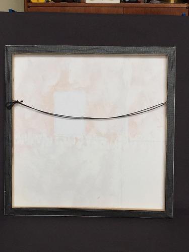 cuadros en oleo y tela decoración moderna 50x50cm