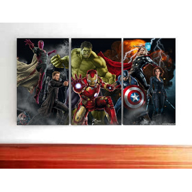 Cuadros En Vinilo Avengers